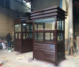 北京银行钢结构岗亭
